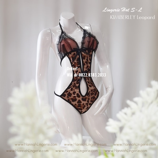 Lingerie S-L, Seri KIMBERLY Leopard
