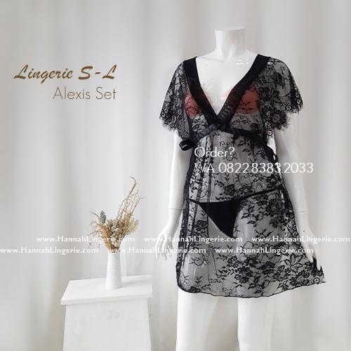 Lingerie S-L Seri: ALEXIS Set