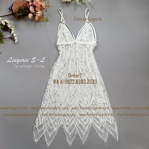 Lingerie S-L Seri: SAVANNAH White