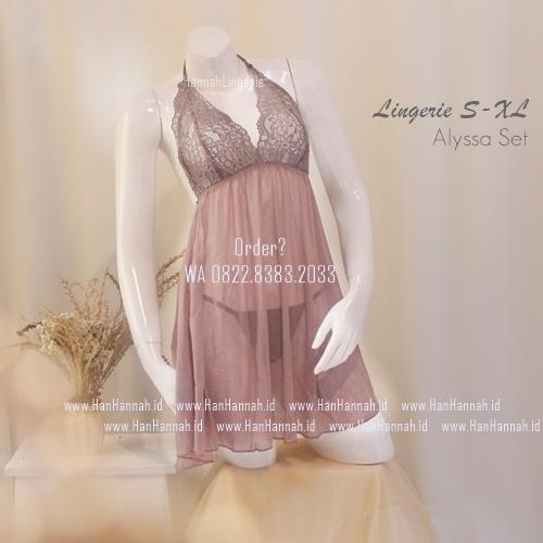 Lingerie S-XL Seri: ALYSSA Set