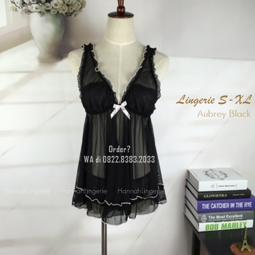 Premium S-XL, Seri AUBREY Black
