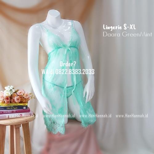 Lingerie S-XXL Seri: DAARA GreenMint