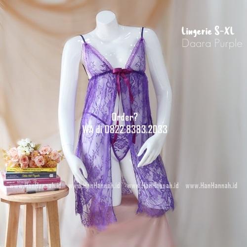 Lingerie S-XXL Seri: DAARA Purple
