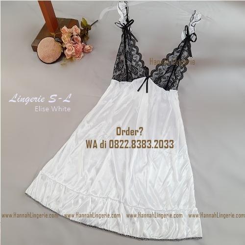 Lingerie S-L Seri: ELISE White
