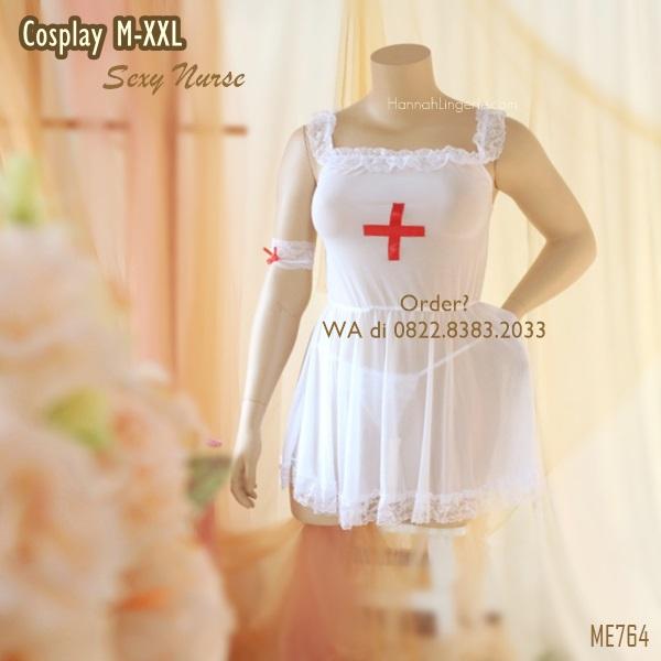 Cosplay Premium M-3XL Seri: Sexy Nurse [ME764]