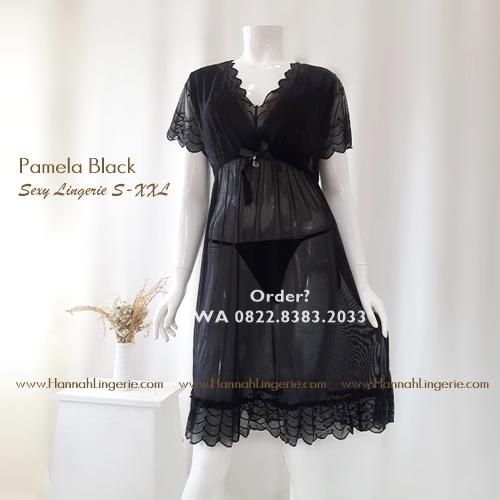 Lingerie Premium S-XXL Seri: Pamela Black