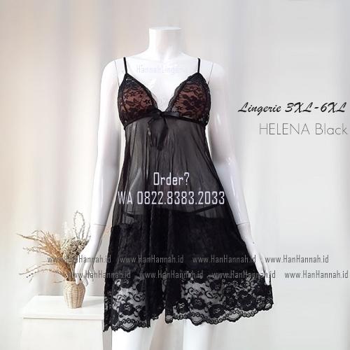 Lingerie JUMBO 3XL-6XL Seri: HELENA Black/Red/White