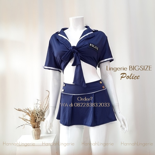 Lingerie XXL-4XL, Cosplay Police [CT753]