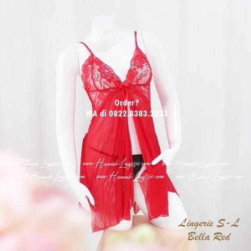 Lingerie S-L Seri: Bella Red
