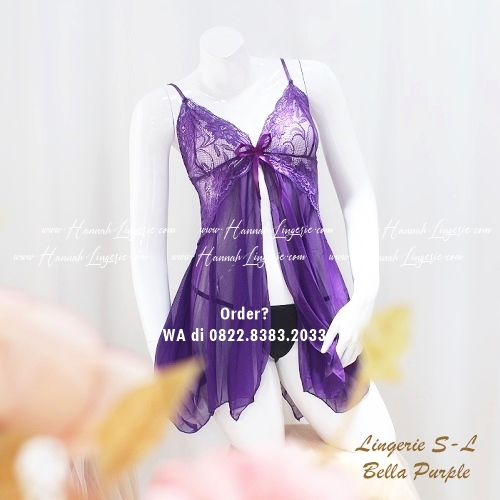 Lingerie S-L Seri: Bella Purple
