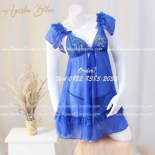 Lingerie M-XXXL: AYESHA Blue