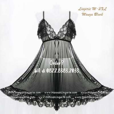 Lingerie M-XXXL Seri: MAUZA Black
