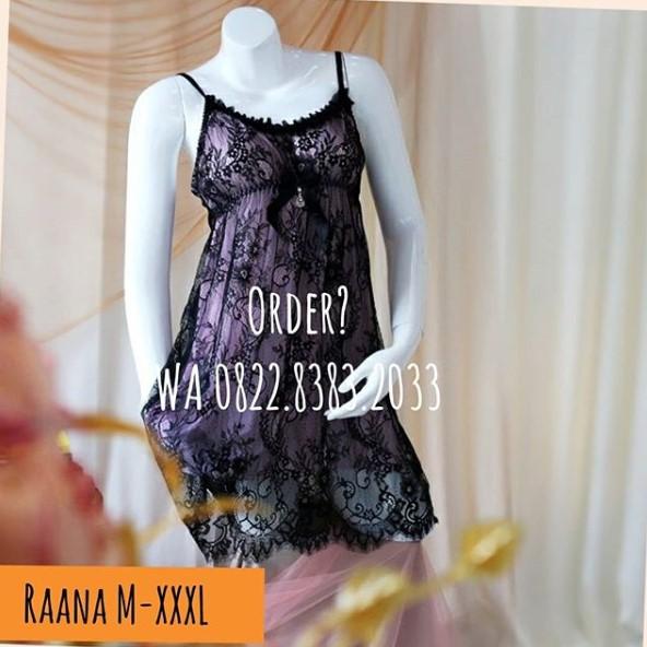 Lingerie M-XXXL Seri: RAANA Lilac