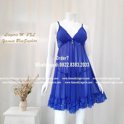 Lingerie M-XXXL Seri: YASMIN BlueSaphire